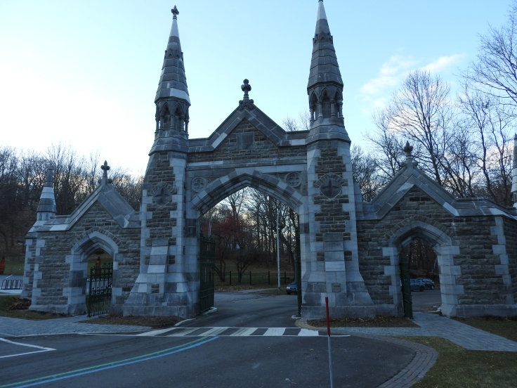 Mount Royal Cemetery Gates