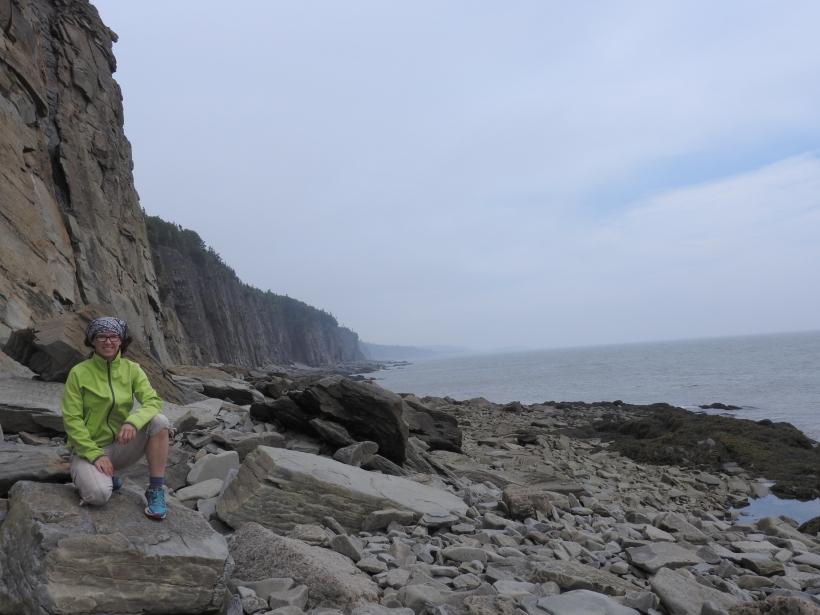 Cape Enrage Fundy coast line. N.B
