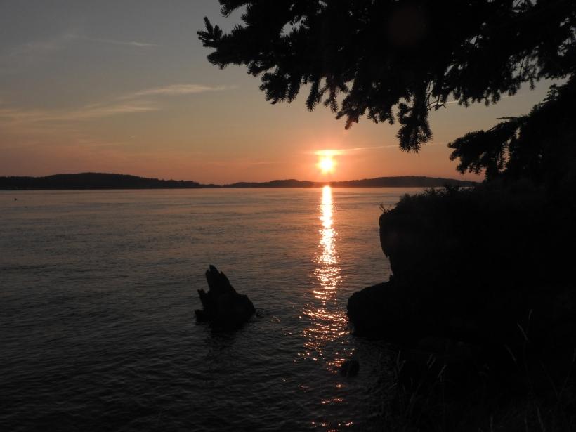 SUNSET DEER ISLAND POINT CAMPGROUND