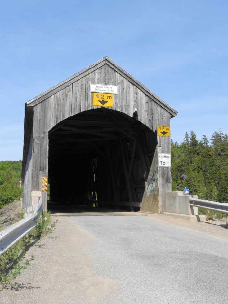 Milkish River Covered Bridge