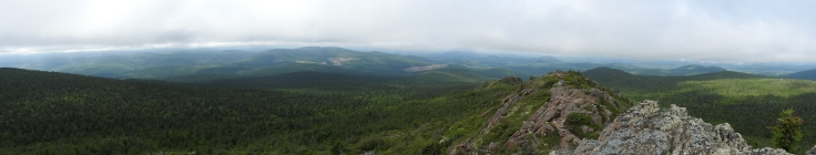Mt Carleton New Brunswick Summit view