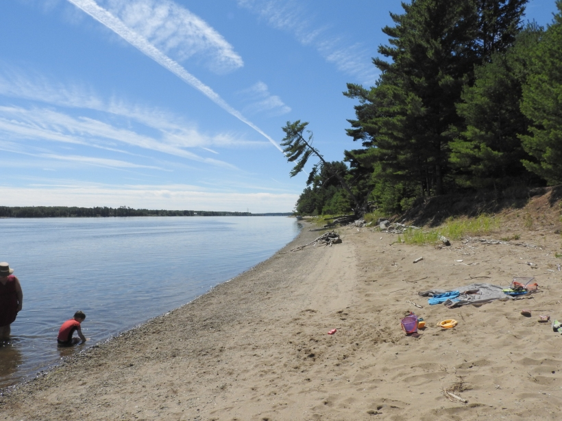 Beaubears Island beach