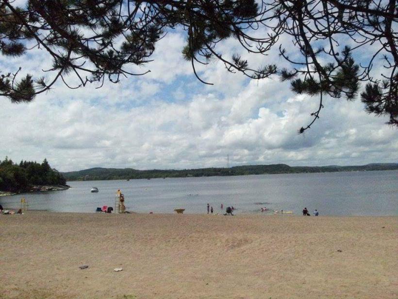Dominion Park beach