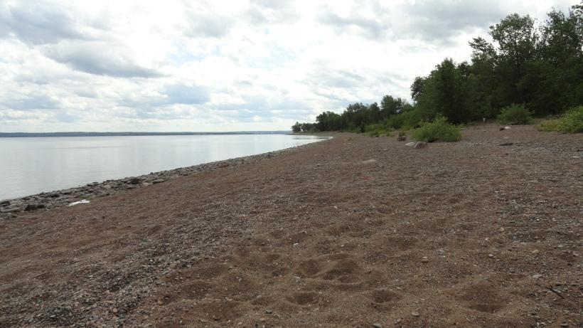 grand Lake beach