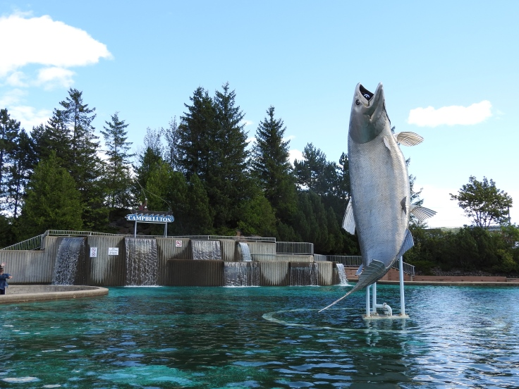Sam, the world Largest Salmon