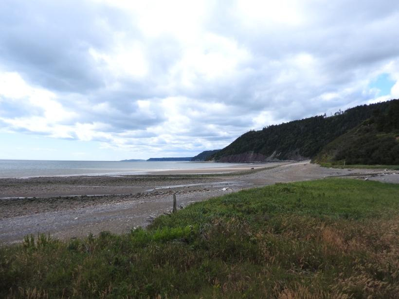 Long beach Fundy Foot Trail.