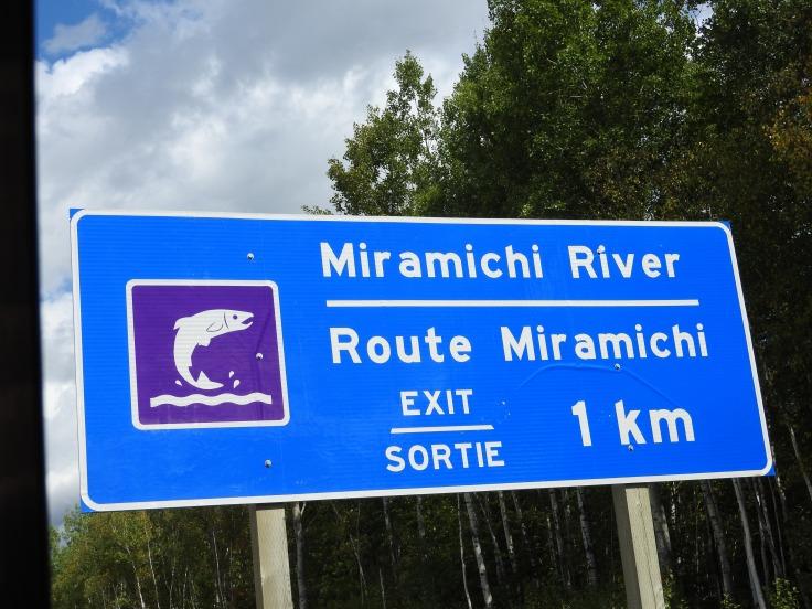 Miramichi River Route