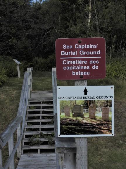Sea captain Burial ground