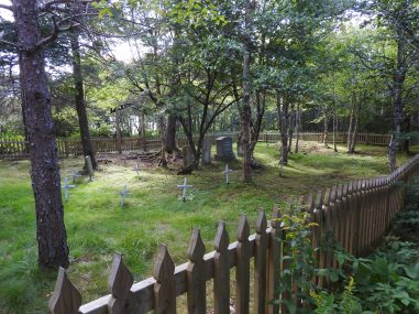 Sea captain grave yard