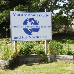 Half way between North Pole and Equator, Stewiacke Nova Scotia