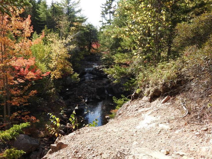 Welsford Falls, Autumn