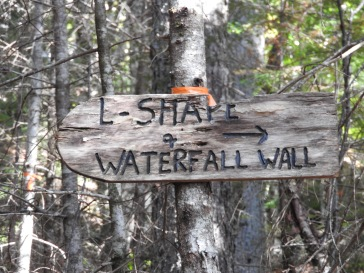 L-Shape and Water fall Wall