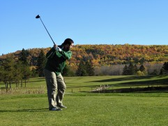 T Box of the 4th, featured member John Magee Welsford Golf Club