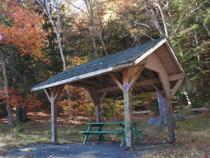 Covered Picnic area Eagle Rock Park