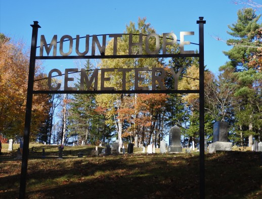 Entrance Gate to Mount Hope Cemetery