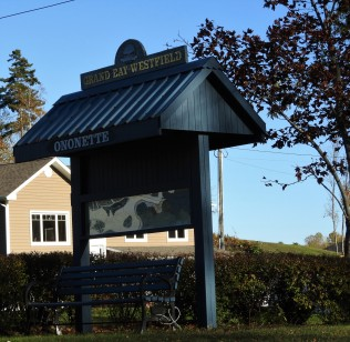 Ononette Heritage trails stop