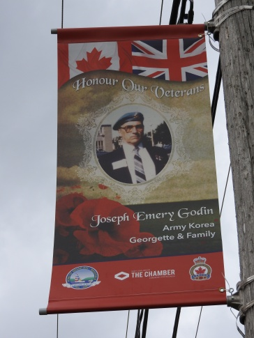 Honouring our Veterans Joseph Emery Godin Army Korea Georgette and Familly