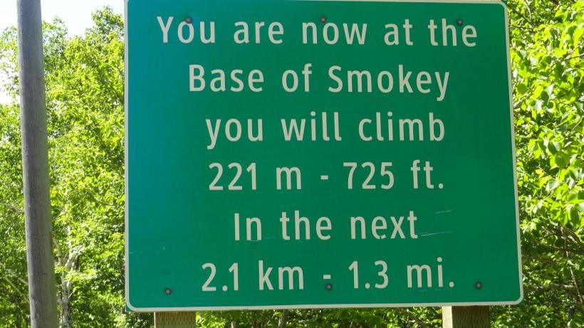Base of Smokey Mountain Cape Breton