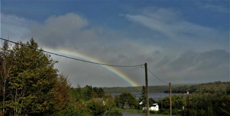 Rainbow over River Inhabitants