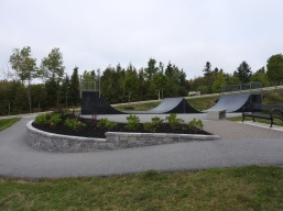 Skateboard park onsite