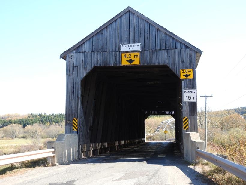 Bloomfield Creek Coverd Bridge