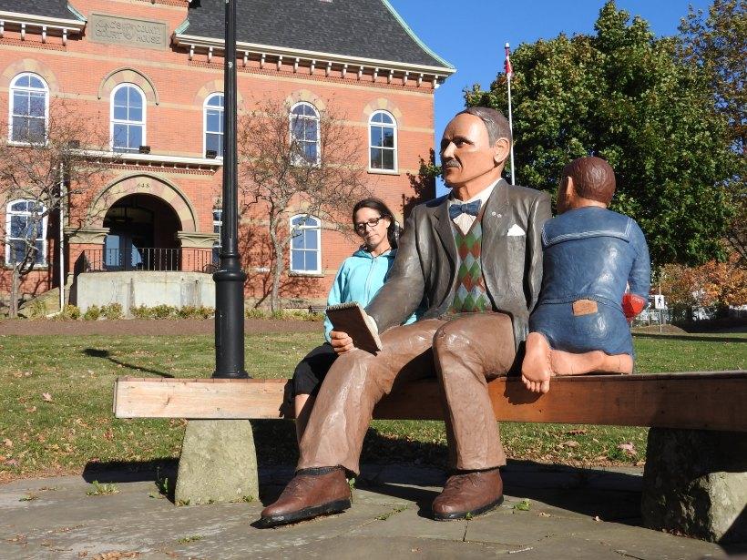Credo Monument Me with John Humphrey , John and Kathy Hooper sculpturist