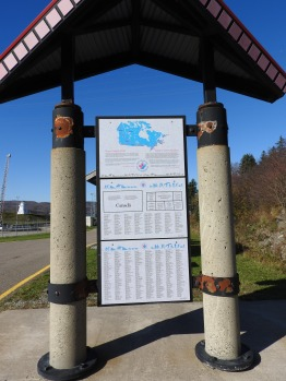 Trans Canada Trail Map and sponsors