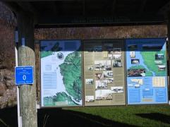 Intrepritve Map of the Ceilgh Coast Trail