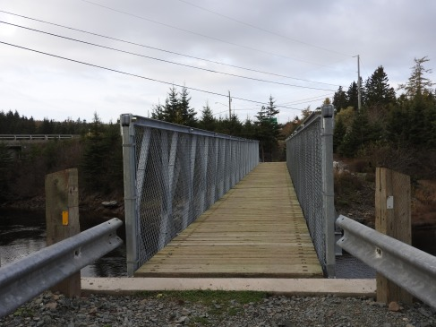 Foot Bridge over River Tilller