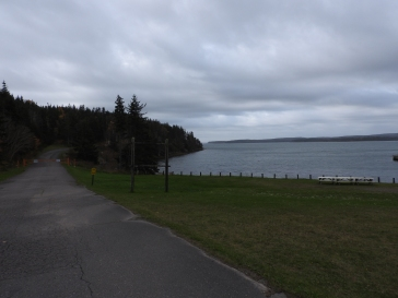 view from Battery Provincial Park,