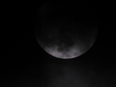 Moon over West Bay
