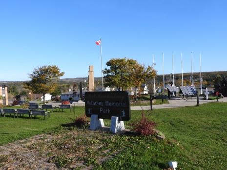 Vetrans Memorial Park, Reeves street, Port Hawkesbury