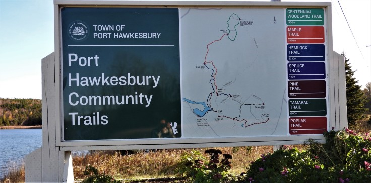 Port Hawkesbury Trails system