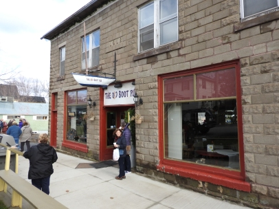 The Old boot Pub Gagetown, new Bruswick