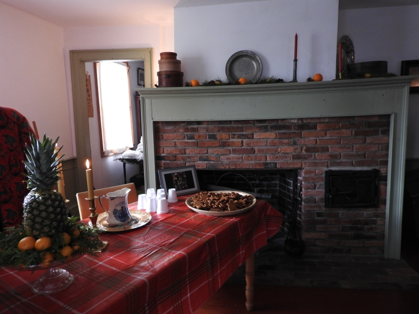 The parlor Tilley House