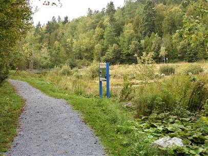Mathews Cove Trans Canada Trail route