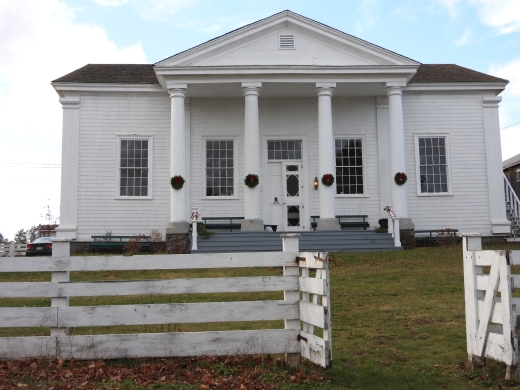 Old Ggeotown Court house. built 1836-1838