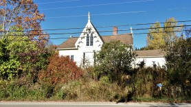 The Ketchum House a Loyalist home 1301 Main Street Hampton, a bit over grown and run down
