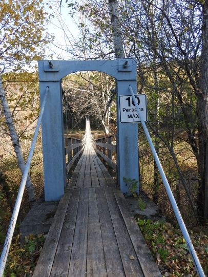 Titusville 2nd suspension bridge