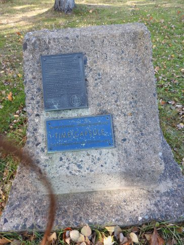 NB 200 Bicentennial Time Capsule, rotary club to be opened in 2009, 2034 and 2084