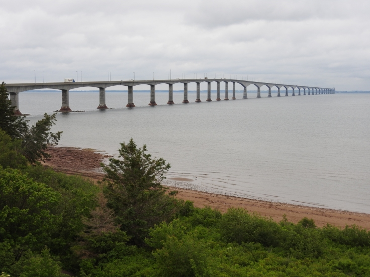 Confederation Bridge from Cape Tormentine