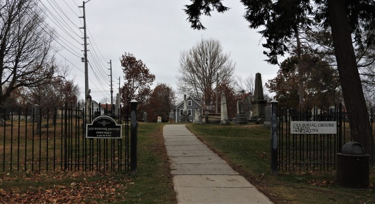 Old Burial Ground Fredericton New Brunswick