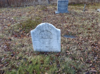 Farewell to Mary Fanjoy in Baptist Cemetery route 105
