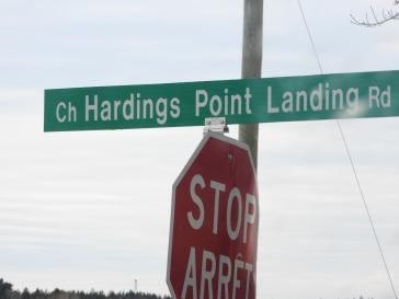 Hardening Point Landing Road
