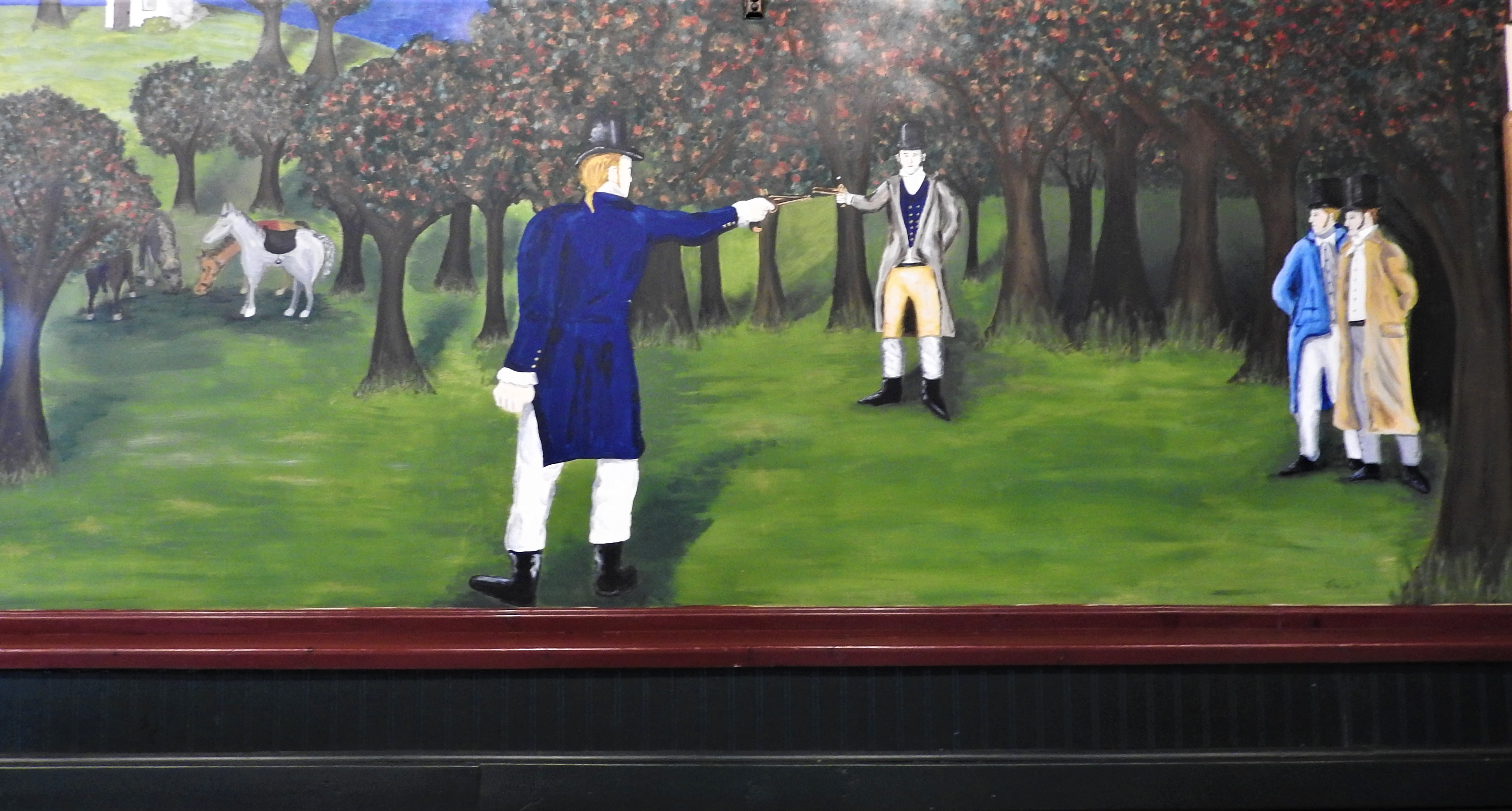 Mural of the Due