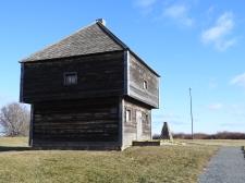 Fort Edward Windsor Nova Scotia, National Historic Site. Oldest Military Blockhouse in North America Oldest Military Blockhouse in North America
