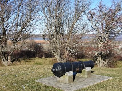 Canon at Fort Edward Windsor Nova Scotia December 22nd 2017