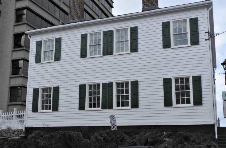Loyalist house Saint John NB