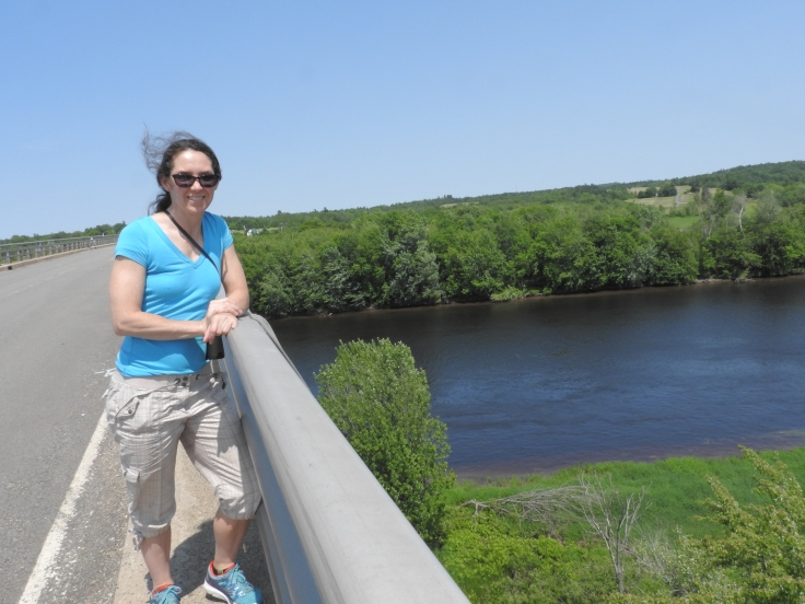 Me on old Jemseq river Bridge