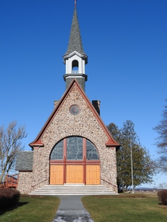 Memorial Church 1922 built by funds rised from Acadian communities thorough out North America